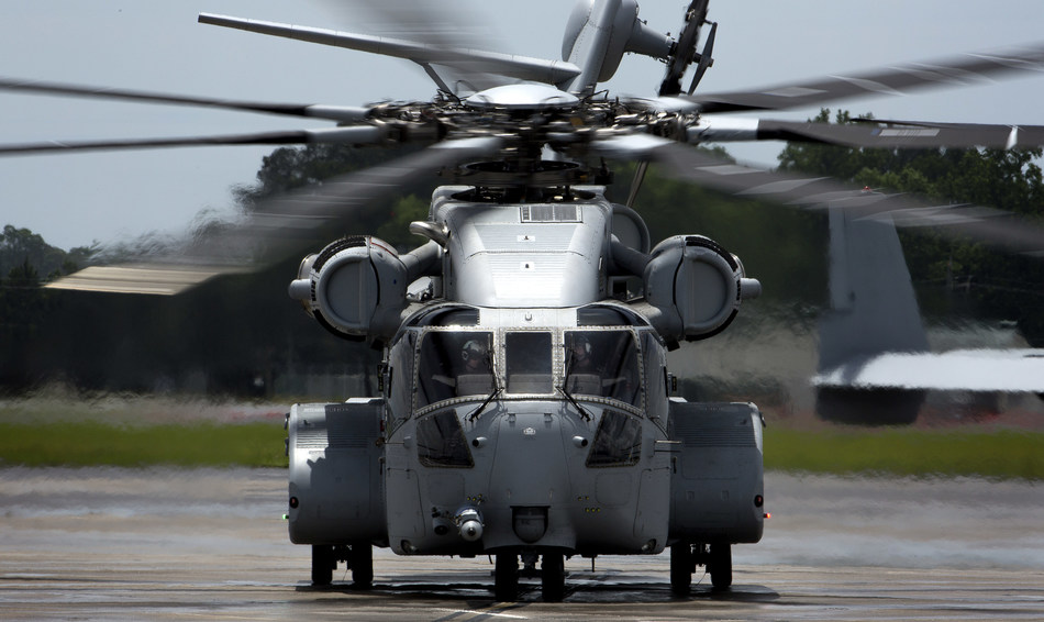 Sikorsky delivered the first of 200 CH-53K King Stallion Helicopters to the USMC from West Palm Beach, Florida, on May 16. Image courtesy of U.S. Marine Corps.