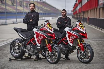 Carlin Dunne and Codie Vahsholtz, Ducati Team for 2018 Pikes Peak International Hill Climb