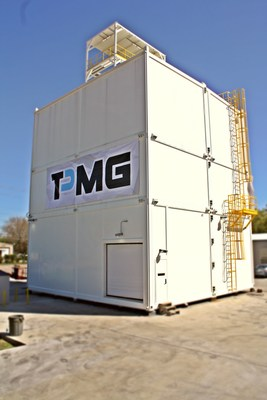 TPMG manufactures a one of a kind Class 2 Div.2 multi-tier blast rated building.