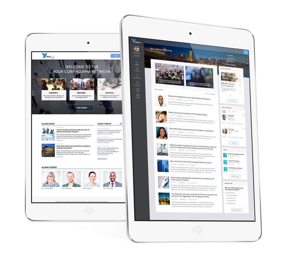 EnterpriseAlumni - Corporate Alumni Platform
