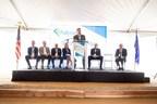 Nevada Governor Brian Sandoval speaks at the Fulcrum Sierra BioFuels Groundbreaking