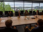Minister Qualtrough promotes Canada's forest industry through roundtable discussion (CNW Group/Public Services and Procurement Canada)
