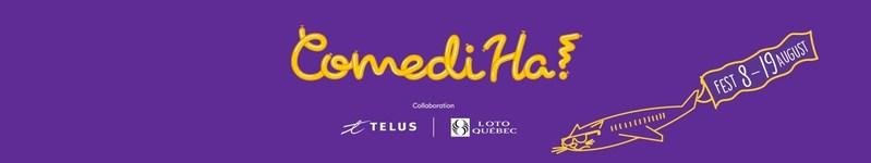 Logo: ComediHa! (CNW Group/Festival international du rire)