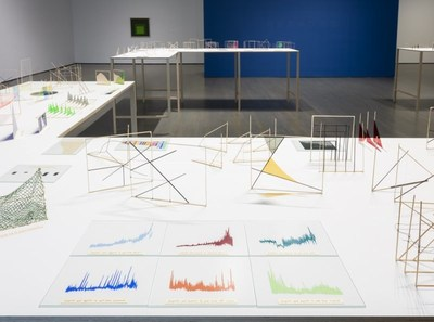 Richard Ibghy and Marilou Lemmens, The Prophets, 2013-2015. Installation view, Musée d'art contemporain de Montréal, 2018. 412 elements. Assorted materials. In process of acquisition. © Richard Ibghy and Marilou Lemmens (2018) (CNW Group/Musée d'art contemporain de Montréal)