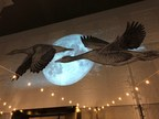 Mural Of Geese Flying Over Portland Is A High Point At New Apartments