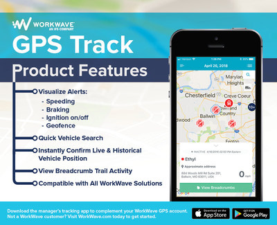 WorkWave: GPS Track mobile app allows businesses to see entire fleet�s location from almost any device