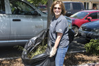 Fetzer Vineyards' Chief Operating Officer Cindy DeVries joined employees volunteering at Plowshares, a community dining hall in Ukiah.