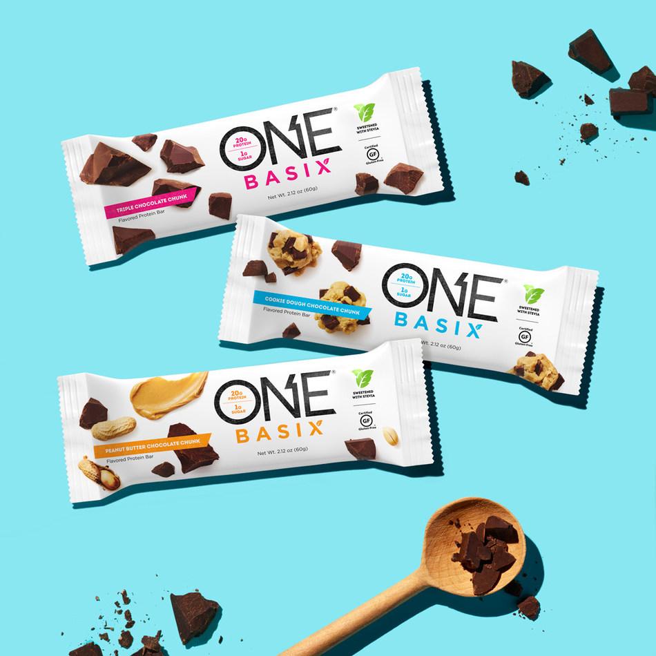 ONE Brands Basix Protein Bars (PRNewsfoto/ONE Brands)