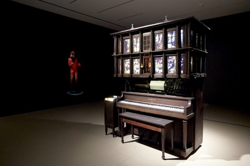 Graeme Patterson, Player Piano Waltz, 2013. © Graeme Patterson (2018) (CNW Group/Musée d'art contemporain de Montréal)