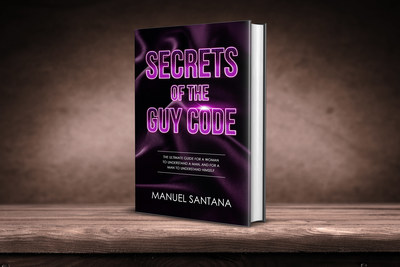 "The secrets are out! Find them out in the highly anticipated book, ""Secrets of the Guy Code"""