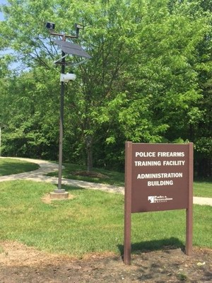 Deploying just days after partnering, AITHERAS and V5 Systems install their first V5 Portable Security Unit with Acoustic Gunshot Sensor for the DC-area National Capital Park Police force.