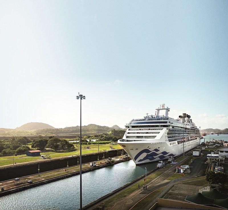 Princess Cruises Reveals 2019-2020 Panama Canal Itineraries