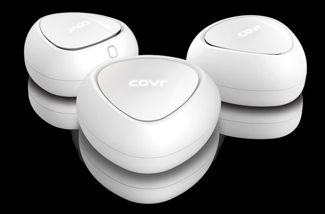 D-Link Covr Dual-Band Whole Home Mesh Wi-Fi System (COVR-C1203): Covr your whole home in seamless Wi-Fi