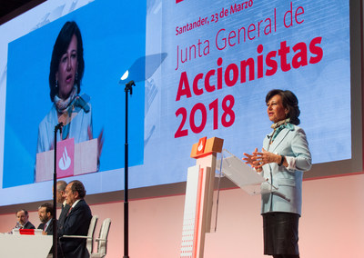 Banco Santander annual general meeting, March 23, 2018