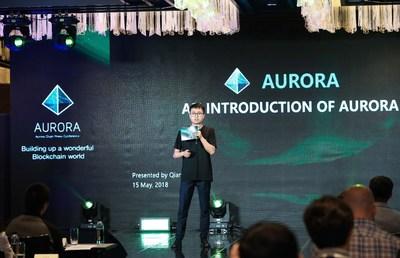 Arthur Qiang (PRNewsfoto/Aurora Chain)