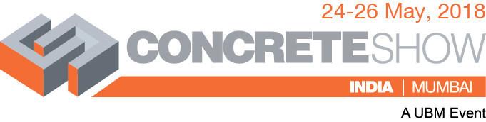 Concrete Show India Logo (PRNewsfoto/UBM India Pvt. Ltd.)