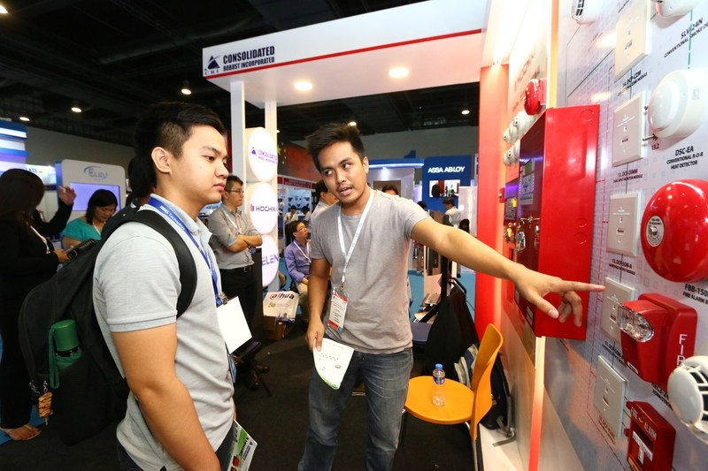 Cutting edge product available at IFSEC Philippines including Access Control & Biometrics, CCTV, Cyber Security, Fire Alarms, IoT, and more (PRNewsfoto/UBM Asia (Malaysia))