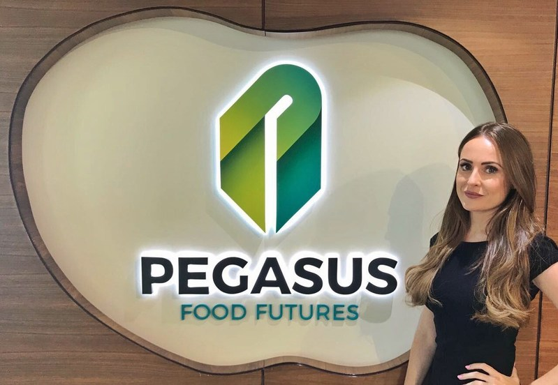 Newly appointed Head of Human Resources Stefanie Paterson at Pegasus Food Futures Headquarters in Abu Dhabi (PRNewsfoto/Pegasus Food Futures)