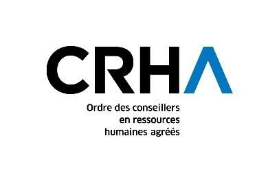 Logo: CRHA - Ordre des conseillers en ressources humaines agréés (Groupe CNW/Ordre des conseillers en ressources humaines agréés)