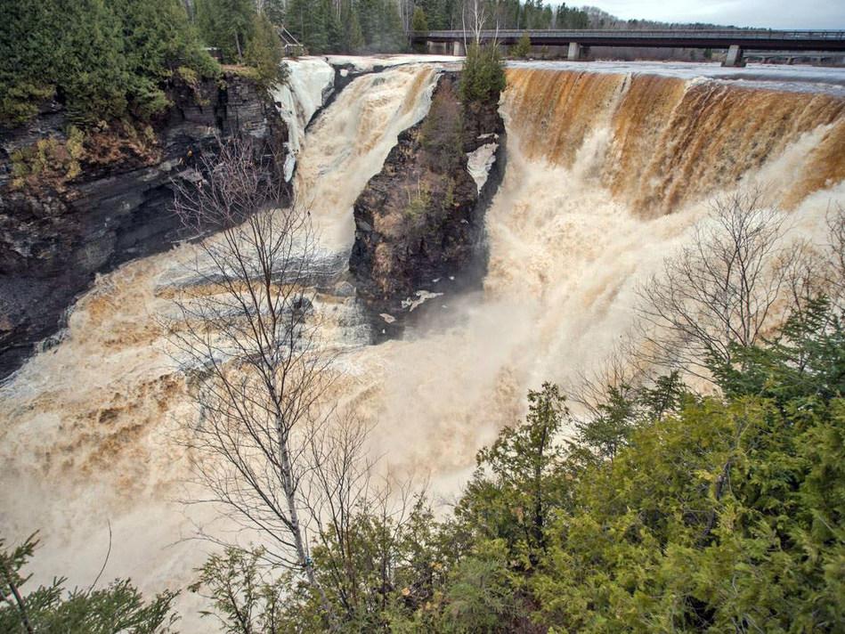 Kakabeka Falls on the Kaministiquia River in Northwest Ontario (CNW Group/Ontario Power Generation Inc.)