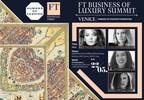 Humans of Fashion Foundation will present its global initiative at FT Business of Luxury Summit Venice, Italy May 20-23, 2018