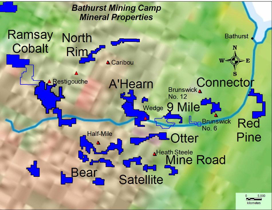 SLAM 35,000 hectare spread in the BMC (CNW Group/SLAM Exploration Ltd.)