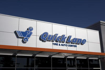 In addition to its traditional service department, Holiday Ford also hosts a Quick Lane.