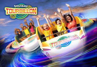 Tourbillon, La Ronde's new family ride. (CNW Group/La Ronde)