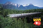 VIA Rail a lancé le Concours VIA40, offrant la chance de remporter l'un des 40 billets anniversaire donnant chacun droit à un voyage aller-retour pour deux personnes d'un océan à l'autre ou vers toute autre destination desservie par VIA Rail (Groupe CNW/VIA Rail Canada Inc.)