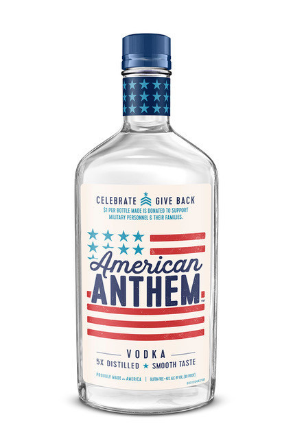 Diageo Launches New American Anthem Vodka