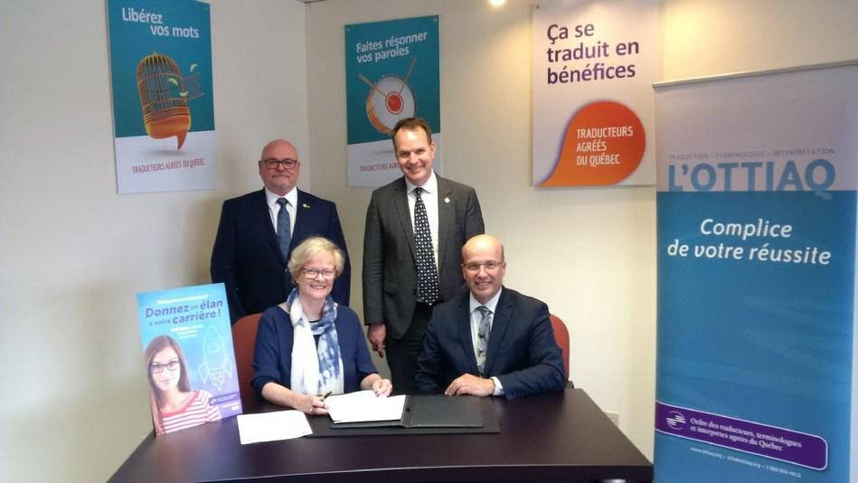 Le Bureau de la traduction renforce ses partenariats avec l'industrie langagière (Groupe CNW/Services publics et Approvisionnement Canada)