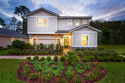 Exterior of Moonstone floor plan home