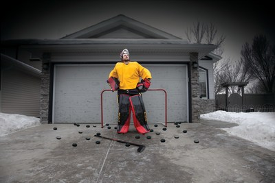 LINE-X, a global leader in extreme performance protective coatings with proprietary technologies and stylish truck accessories, has teamed up with  NHL All-Star goalie Mike Smith to show yet another way LINE-X's incredible protective coatings can go #OutsideTheBedliner by protecting garage doors from rain, snow, dust, dents and even – hockey pucks.
