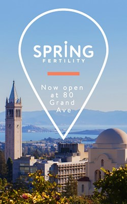 Top Fertility Group, Spring Fertility, To Open In Oakland Expanding Services Throughout The Bay Area