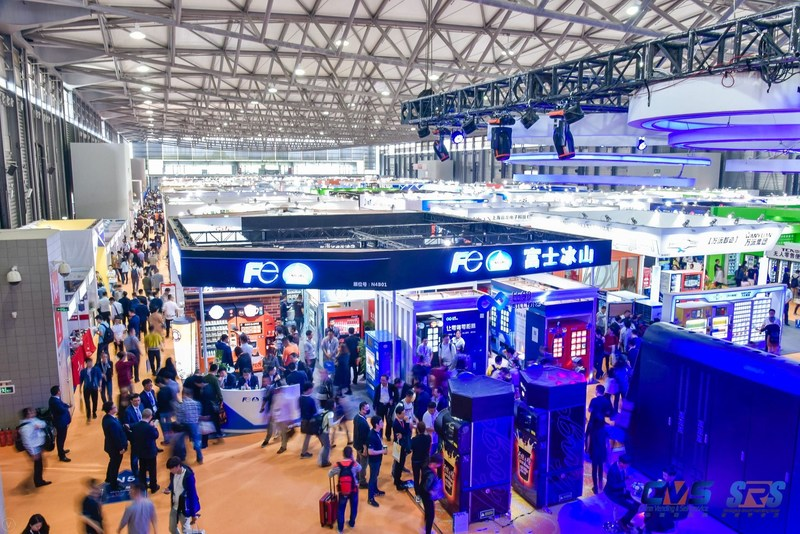 One of the exhibition halls at CVS and SRS2018
