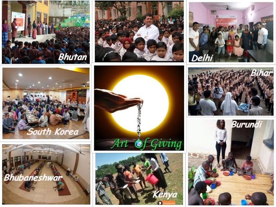 KIIT - The Art of Giving (PRNewsfoto/KIIT)