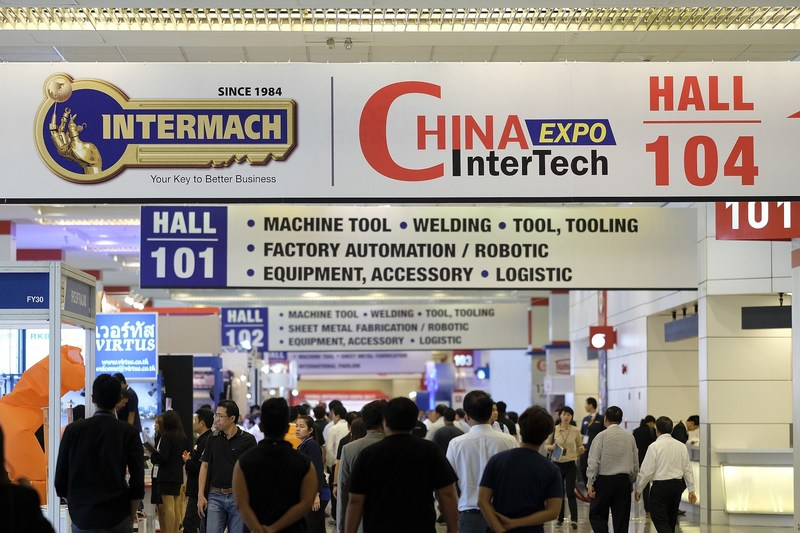 The 35th Edition of Intermach, which takes place at BITEC this year, showcases 'Smart Factory' and the automatic production process without human labour involved. The ASEAN's largest Industrial Machinery Exhibition is expected to generate more than 10,000 million baht of the trade value.