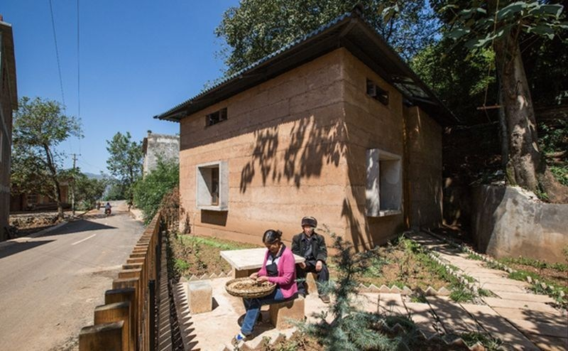 World Building of the Year 2017: The Chinese University of Hong Kong, Post-earthquake reconstruction/demonstration project of Guangming Village, Zhaotong, China. (PRNewsfoto/The World Architecture Festival)