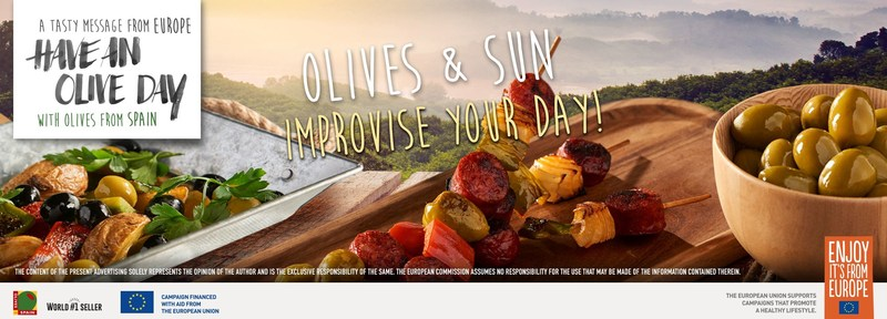 Olives from Spain presents the Mediterranean snack to enjoy the good weather