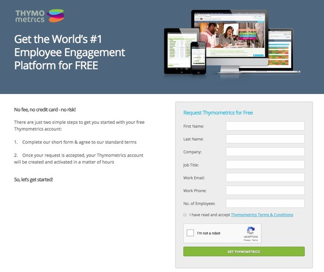 Thymometrics is offering a completely free to use version of their globally recognised always-on employee engagement platform.
