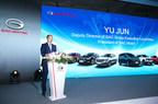 Yu Jun, président de GAC Motor, présente la stratégie d'expansion mondiale de la société (PRNewsfoto/GAC Motor)