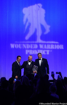 The Wounded Warrior Project® (WWP) Courage Awards & Benefit Dinner® is coming back to New York City, thanks to the support of The Gabriel and Yaara Plotkin Family Foundation along with support from Goldman Sachs, Neuro Community Care, and the NFL Players Association.