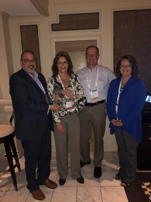 """TDK-Lambda Americas Awards Digi-Key """"In Recognition of Exceptional Sales Growth – Star Performer Term T122"""""""