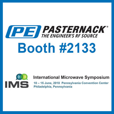 Pasternack to Exhibit at the 2018 International Microwave Symposium
