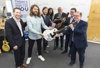 Sun Life Financial and The Sheepdogs launch the Sun Life Financial Musical Instrument Lending Library program at Regina Public Library (CNW Group/Sun Life Financial Canada)