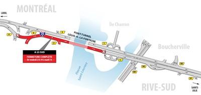Entraves pour la fin de semaine du 18 mai (Groupe CNW/Ministère des Transports, de la Mobilité durable et de l