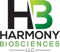 Harmony Biosciences logo (PRNewsfoto/Harmony Biosciences, LLC)