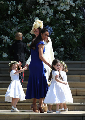 Jessica Mulroney dazzled in Birks at the Royal Wedding (CNW Group/Birks Group Inc.)