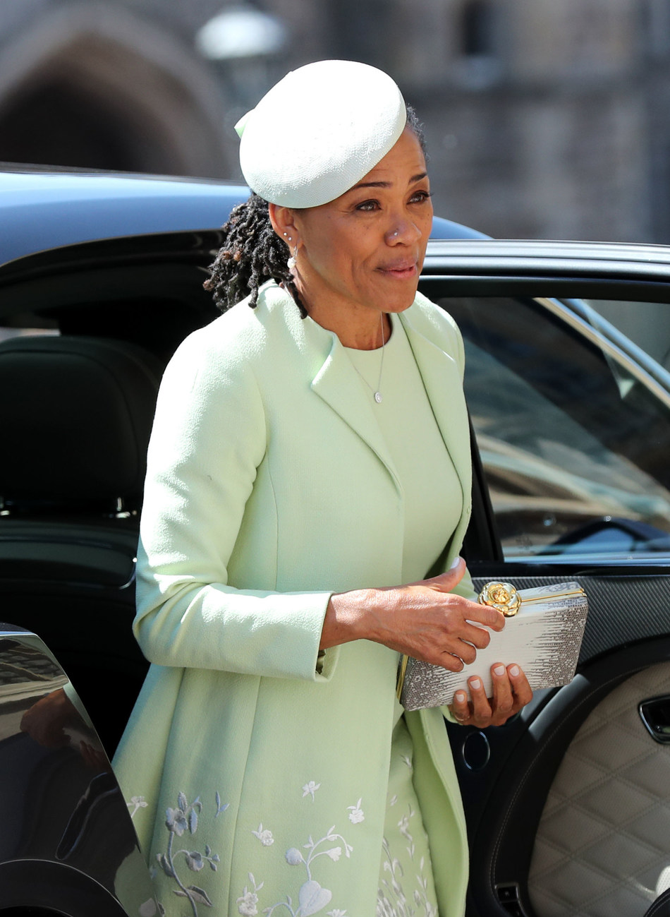 Ms. Doria Ragland wore Birks jewellery as she proudly watched her daughter marry HRH Prince Harry (CNW Group/Birks Group Inc.)