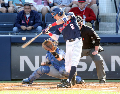 Ole Miss outfielder Ryan Olenek wins fan voting portion of 2018 C Spire Ferriss Trophy honoring Mississippi's top college baseball player